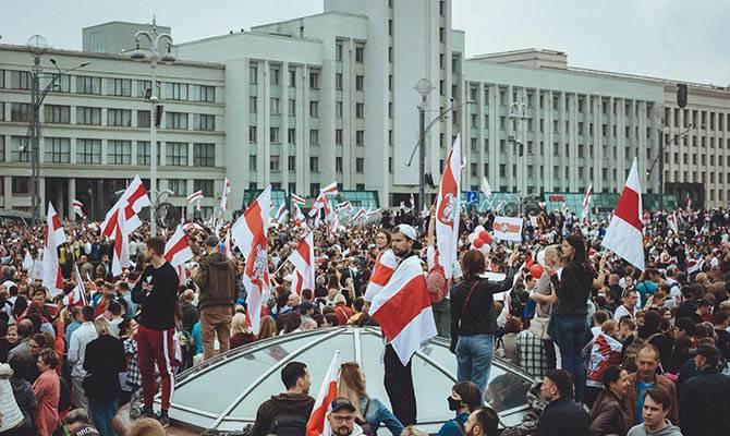 Вчера в Минске во время акции протеста были задержаны около 50 журналистов.