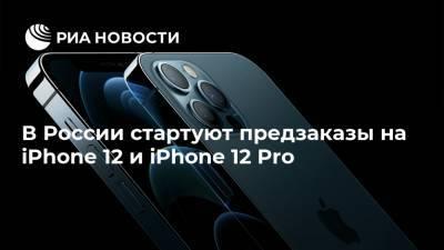 В России стартуют предзаказы на iPhone 12 и iPhone 12 Pro